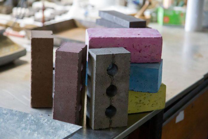 construction waste brick