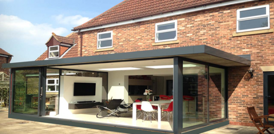 home extensions, glazed walls,
