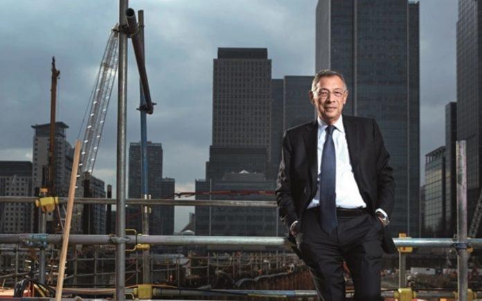 Sir George Iacobescu, Canary Wharf Group