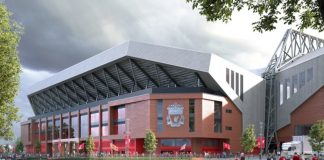 Anfield road stand redevelopment