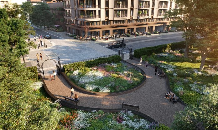 kensington gardens gates