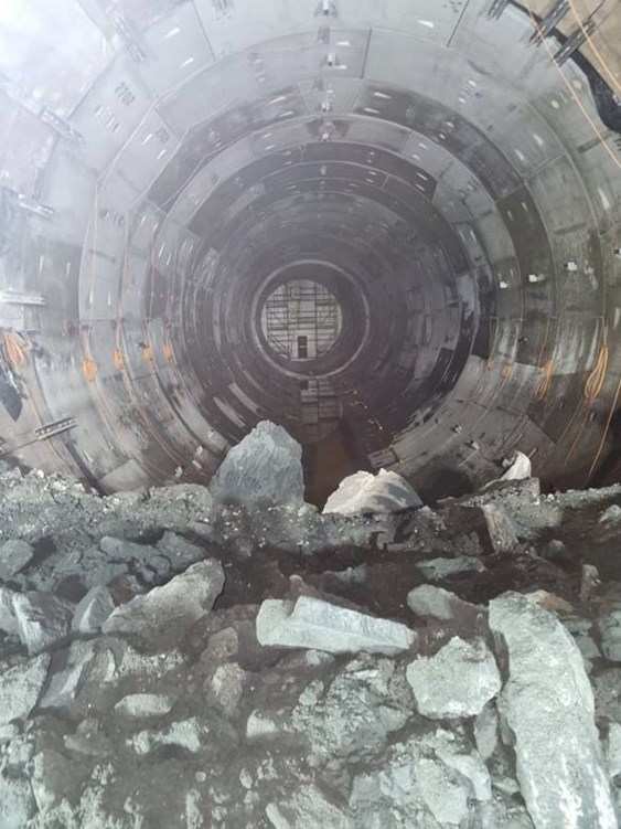 Breakthrough at Thames Tideway links all three tunnel sections