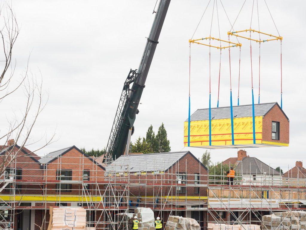 3 manufacturers appointed to £600m offsite homes framework