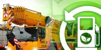 hvo fuel, mobile cranes,