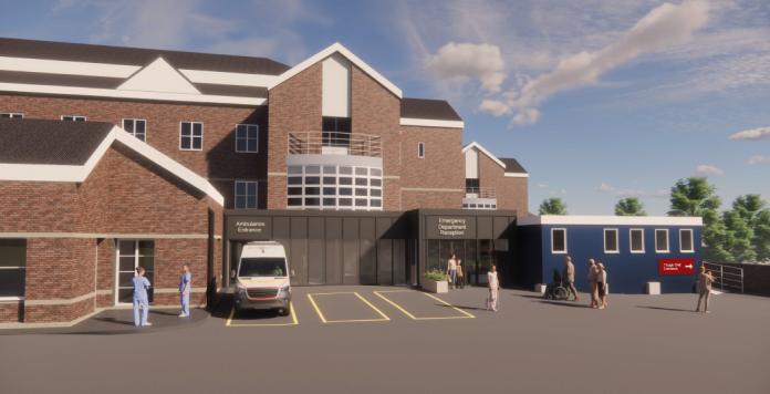 Dorset hospital expansion,