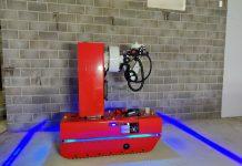 skanska robot, robotic platform