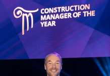 Construction manager of the year, Marc Burton