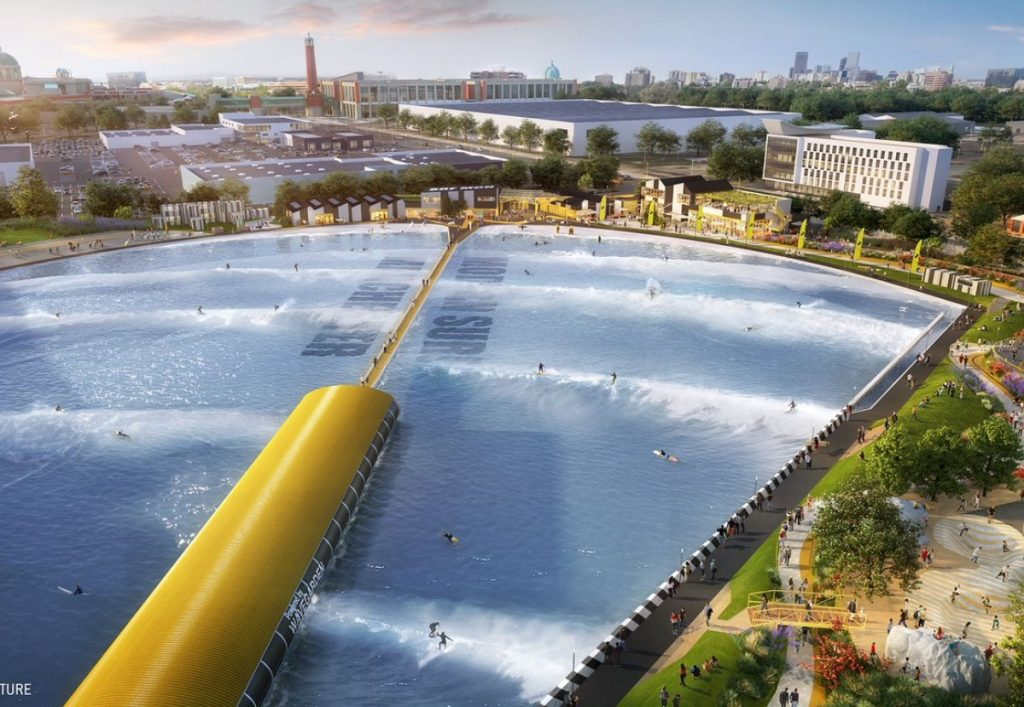 Go-Ahead for £60m Manchester Inland Surfing Lagoon