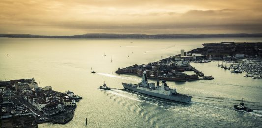 Digital twin portsmouth port, Portsmouth International Port,