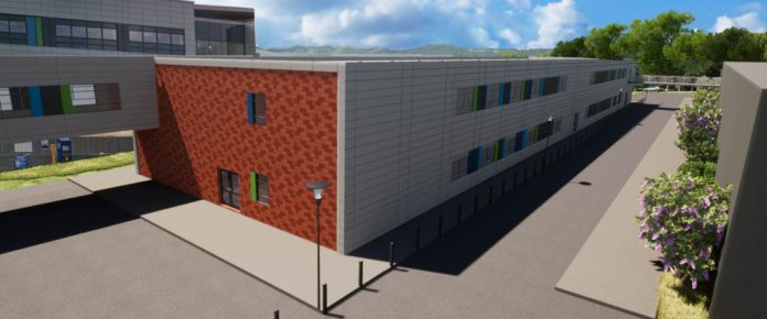 modular building queen alexandra hospital