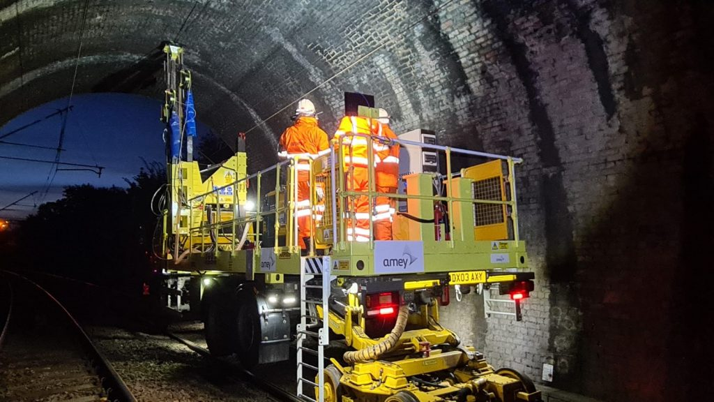 Innovative Tunnel Drill To Enhance Rail Operatives Safety