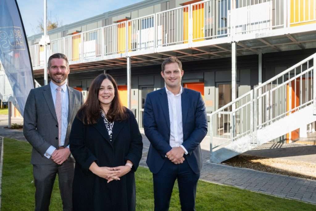 First Modular Homes for the Homeless Handed Over to Haringey Council